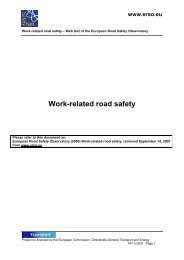 Work-Related Road Safety w - ERSO - Swov
