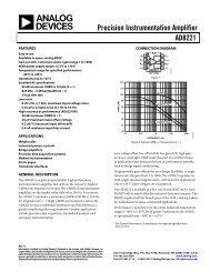 AD8221 (Rev. C) - Analog Devices