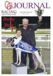 Trainer Sandra Hunt, owner Phil Carter and Group 2 Qld Derby ...