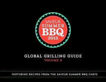 SAVEUR Summer BBQ eCookbook - Kalamazoo Outdoor Gourmet