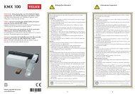 bedieningssysteem KMX 100 - Velux