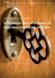 Farmers» in customer marketing and care - solutionproviders