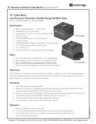 5C Pneumatic Pull-back Collet Blocks - Hardinge Inc.