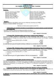 Conseil municipal du 4 mai 2011 - Saint-Fuscien