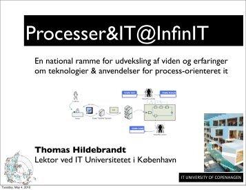 Thomas Hildebrandt, ITU - InfinIT