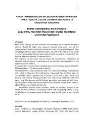 peran PPK I swasta di Kota Bandung.pdf - Kebijakan Kesehatan ...