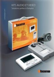 Télécharger la brochure Kits audio et vidéo - Bticino