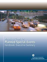 Planned Special Events Planned Special Events - FHWA Operations ...