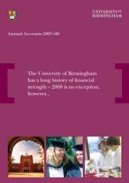 Annual_Accounts_08 - University of Birmingham