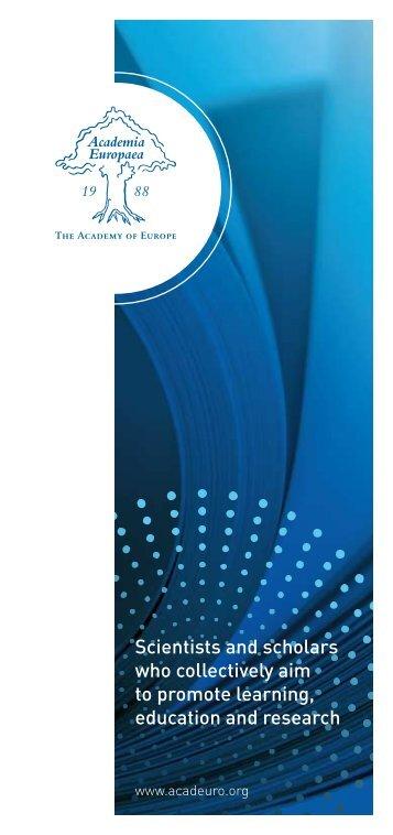 here - Academia Europaea
