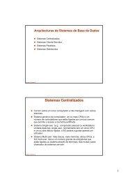 Introdução às Bases de Dados Paralelas e Distribuídas