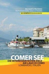 Leseprobe Reiseführer 2013 - Comer See