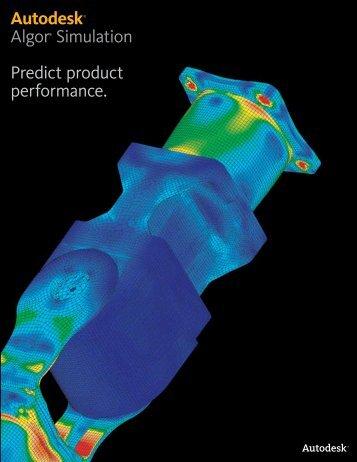 Autodesk Algor Simulation 2010 Detail Brochure - Tata Technologies