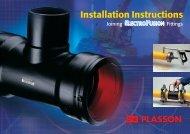 Plasson Electrofusion Installation Guide - Incledon