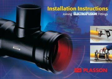 Plasson Electrofusion Installation Guide - Incledon