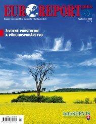 Životné prostredie a pôdohospodárstvo - EUROREPORT plus