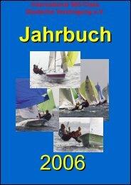 Jahrbuch 2006 als PDF - Deutsche 505er Klassenvereinigung