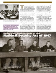 National Security Act of 1947