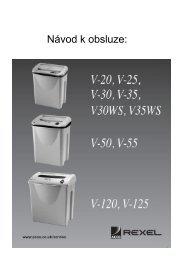 Český návod (345,8 kB) - Nobynet