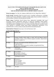 hacettepe üniversitesi iktisadi ve idari bilimler - Sosyal Hizmetler