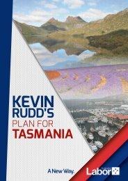 Labor's Plan for Tasmania