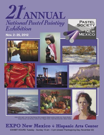 View the 2012 PSNM National Exhibition Catalog - Pastel Society of ...