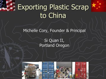Exporting Plastic Scrap to China - Recycling Today