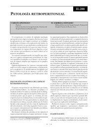 Patología retroperitoneal. - sacd.org.ar
