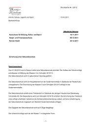 - 1 - Drucksache Nr. 220 /2 Amt für Schule, Jugend ... - Kamp-Lintfort