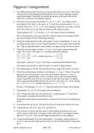 Opgaver i rumgeometri