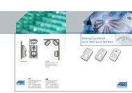 Prospekt Bewegungsmelder Serie 150 - ABI Sicherheitssysteme ...