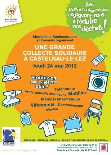 une grande collecte solidaire à castelnau-le-lez - Montpellier ...