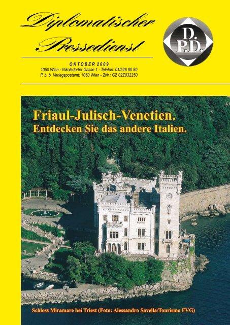 friaul-julisch-venetien / impressum - Diplomatischer Pressedienst