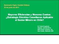 Mayores Eficiencias y Menores Costos: ¿Estrategia Eléctrica ... - Cigré