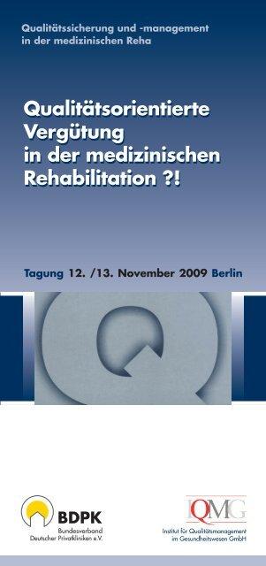 Programm IQMG Jahrestagung 2009 - IQMG Institut für ...