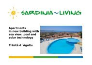 Apartments in new building with sea view, pool and ... - Sardinia Living