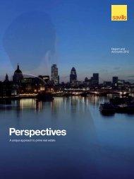 Savills plc 2012 Annual Report - (PDF) - Investor relations