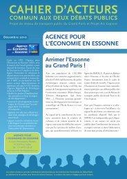 CAHIER D'ACTEURS - Agence pour l'économie en Essonne