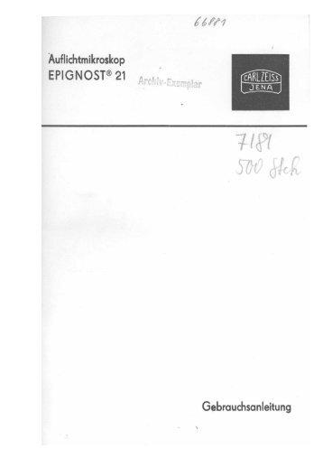 Epignost 21 Anleitung - Mikroskopfreunde-Nordhessen