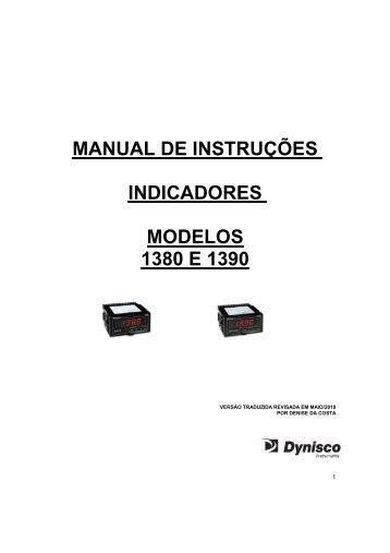 Indicador digital 1390 dynisco - Digitrol