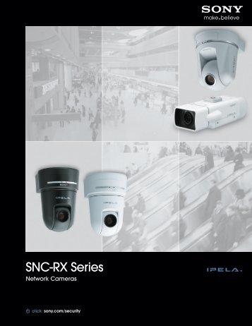 SNC-RX Series - Sony