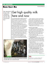 Get high quality milk here and now