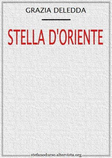 """""""Stella d'Oriente"""" di Grazia Deledda - Altervista"""