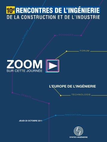 découvrir le Zoom… - Syntec ingenierie