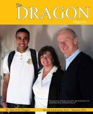 The DRAGONMagazine - Bishop O'Dowd High School