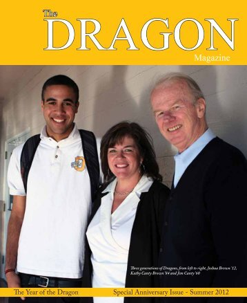 The DRAGONMagazine - Bishop O'Dowd High School