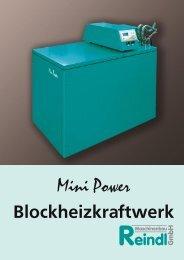 Mini Power Blockheizkraftwerk