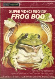 Page 1 Page 2 SUPER VIDEO HRCHDE 'M FROG BOG ...