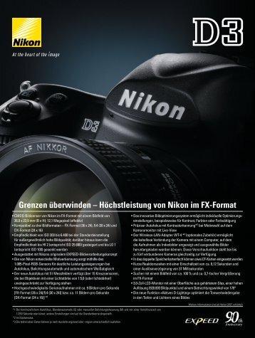 Grenzen überwinden – Höchstleistung von Nikon im FX-Format