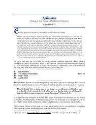 The Helmet of Salvation - Christian Fellowship Devotionals